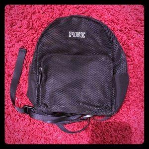 PINK Mini Mesh Backpack